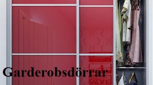 Garderobsdörrar
