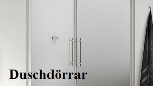 duschdörrar